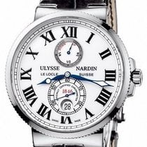 Ulysse Nardin Marine Chronometer 43mm Сталь 43mm Белый