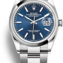 Rolex Datejust Steel 36mm Blue No numerals United States of America, California, Newport Beach