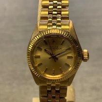 Rolex Oro amarillo Automático Oro Sin cifras 26mm usados Lady-Datejust