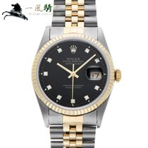 Rolex Datejust Steel 36mm Black