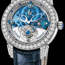 Ulysse Nardin Royal Blue Tourbillon Платина 43mm Синий