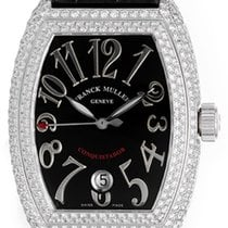 Franck Muller Conquistador Ladies Diamond Watch 8002 SC D