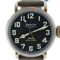 Zenith Automatic Black 46mm new Pilot Type 20 Extra Special