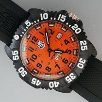 Luminox Plastic Quartz Orange Arabic numerals 44mm new