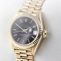 Rolex Lady-Datejust Gelbgold 26mm Schwarz Deutschland, MÜNCHEN