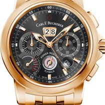 Carl F. Bucherer Rose gold Automatic Black new Patravi