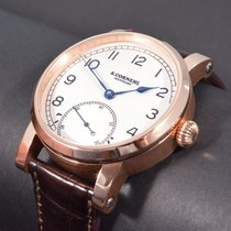 Cornehl Rose gold 42mm Manual winding SC100-CS-02-RG new