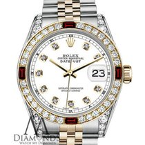 Rolex Lady-Datejust Gold/Steel 26mm White United States of America, New York, New York