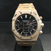 Audemars Piguet Royal Oak Chronograph Rose Gold Black Dial