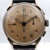 Leonidas vintage chrono great patina big size