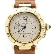 Cartier Pasha 38mm Automatic Solid 18k Yellow Gold Men's...