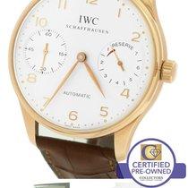 IWC Portuguese Portugieser 2000 7-Day 18K Rose Gold 5000 5000-04