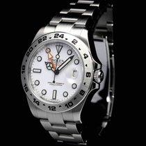 Rolex Explorer II White 216570 Full Set Brilliant Condition 2015