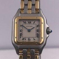 カルティエ (Cartier) vintage PANTHERE steel and gold quartz
