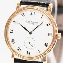 Patek Philippe Calatrava 18kt Gold Uhr Ref. 3919 Papiere Box 1992