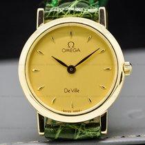 Omega 7360.11 DeVille Quartz 18k Yellow Gold 24mm (27604)