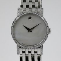 Movado Staal 27mm Automatisch 84 N8 1870S tweedehands Nederland, Nijmegen  (www.horloge-sieraden.nl)