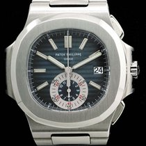 Patek Philippe Nautilus Chronograph 5980 Steel Full Set With...