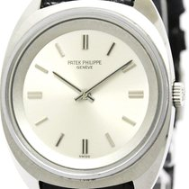 パテック フィリップ Calatrava Mechanical Stainless Steel Men's Dress Watch