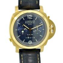 Panerai LTD Edition Luminor GMT 8 Day Monopulsante Chronograph