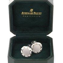 Audemars Piguet Royal Oak Octagonal steel/ gold cufflinks...