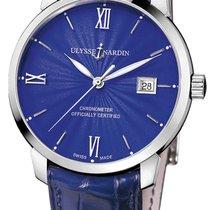 Ulysse Nardin Classico neu Automatik Uhr mit Original-Box und Original-Papieren 8153-111-2/E3