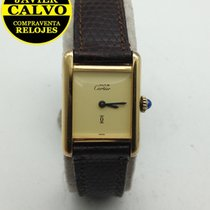Cartier 20mm Cuerda manual usados Tank (submodel)