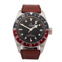 Tudor Heritage Black Bay GMT Pepsi Stainless Steel Men's...