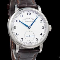 A. Lange & Söhne White gold 38.5mm Manual winding 235.026 pre-owned