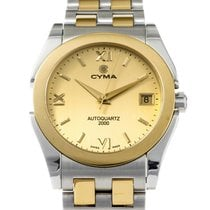 Cyma Steel 34mm Quartz CY2000.10054 pre-owned