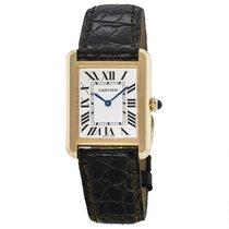 Cartier Tank Solo new Quartz Watch with original box and original papers W5200002