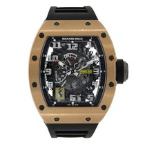 Richard Mille RM 030 Roségoud 50mm Doorzichtig Arabisch