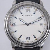 Blancpain Léman Ultra Slim Steel 38mm White Roman numerals
