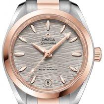 Omega Seamaster Aqua Terra Goud/Staal 34mm Grijs
