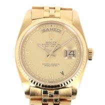 Rolex 18038 Or jaune 1985 Day-Date 36 36mm occasion France, Paris