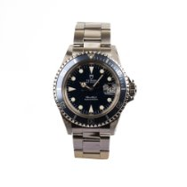 Tudor Steel Automatic Black 36mm pre-owned Submariner