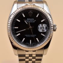 Rolex Datejust Steel 36mm Black No numerals United States of America, Texas, Houston