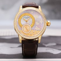 Glashütte Original Star Collection Yellow gold 39.4mm Mother of pearl No numerals