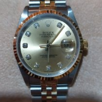 Rolex Datejust 16233 Çok iyi Altın/Çelik 36mm Otomatik
