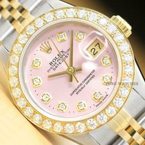 Rolex Lady-Datejust Staal 26mm Roze