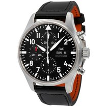 IWC Pilot Black Automatic Chronograph IW377709