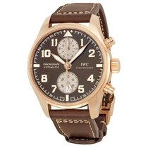IWC Pilot Chronograph Rose gold 43mm Brown Arabic numerals UAE, Dubai