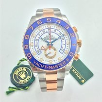 Rolex Yacht-Master II Ouro rosa 44mm Branco Árabes