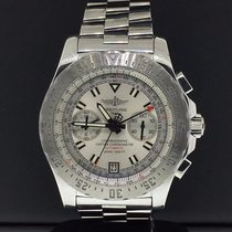 Breitling Skyracer 43.5mm Stainless Steel Silver Dial Automati...
