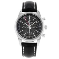 Breitling Transocean AB045112/BC67-134S Stainless Steel Watch ...