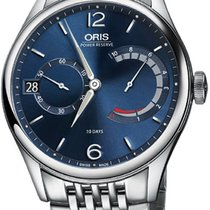 Oris Artelier Calibre 111 Steel 43mm Blue United States of America, New York, Airmont