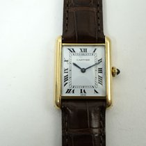 Cartier Tank (submodel) brukt 24mm Gult gull