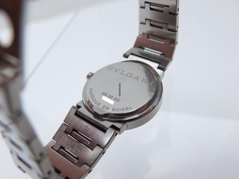 4f49ef1e028 Bulgari montre bulgari bb 26 ss 26 mm quartz classique à vendre pour 1.285  € par un Trusted Seller sur Chrono24