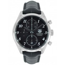 TAG Heuer Carrera Calibre 16 Steel 41mm Black United Kingdom, Blackburn
