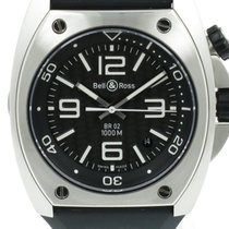 """Bell & Ross """"Marine BR 02 Diver"""" Carbon dial, automatic"""